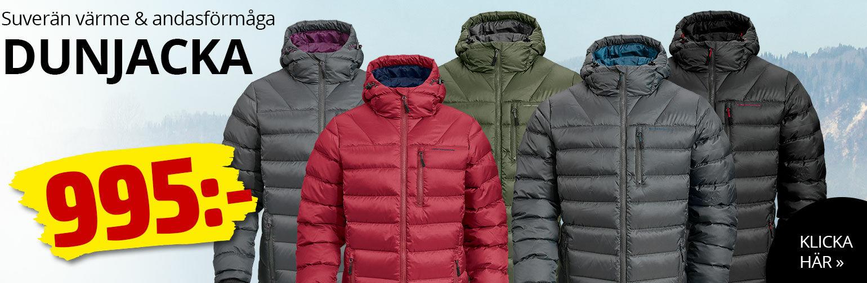 Lätt, smidig och tjock dunjacka som erbjuder fantastisk värme och suverän andasförmåga.