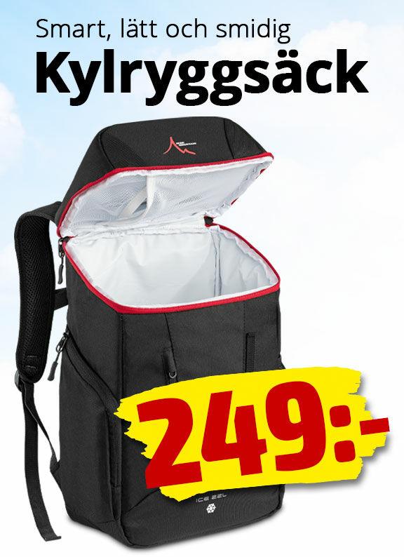 Kylryggsäck för sommarens alla utflykter!