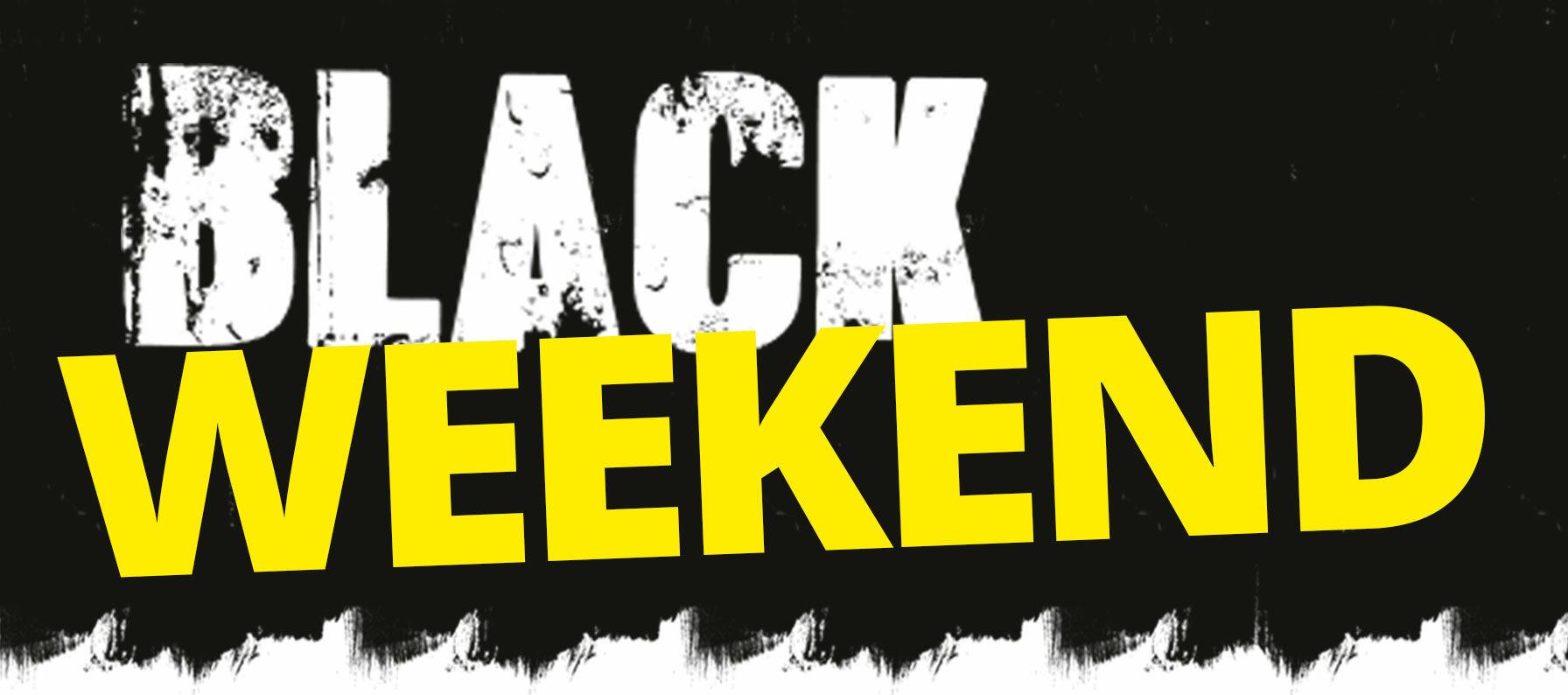 Black weekend med otroliga erbjudanden