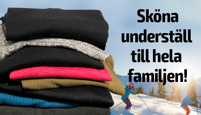 Sköna underställ till hela familjen!