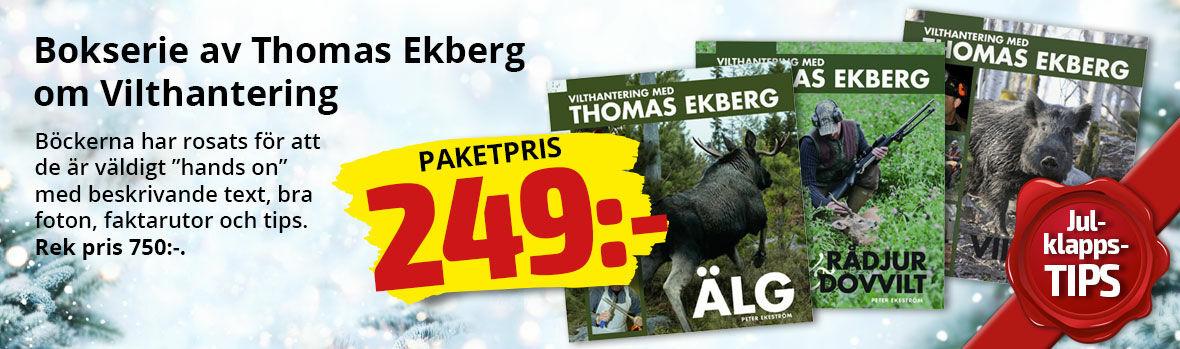 Bokserie av Thomas Ekberg om vilthantering