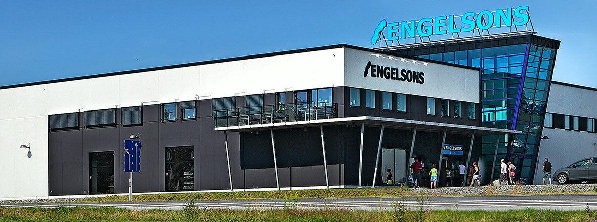 Engelsons butik i Falkenberg