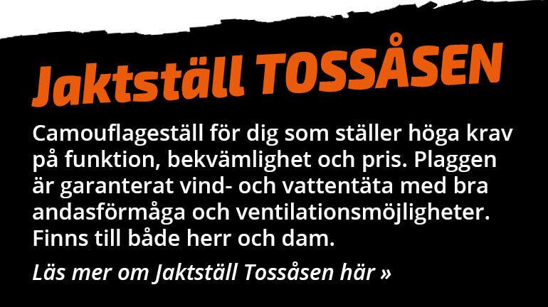 Jaktställ Tossåsen - Camouflageställ för dig som ställer höga krav på funktion och bekvämlighet.