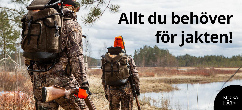 Här finns allt du behöver för jakt och jägare.