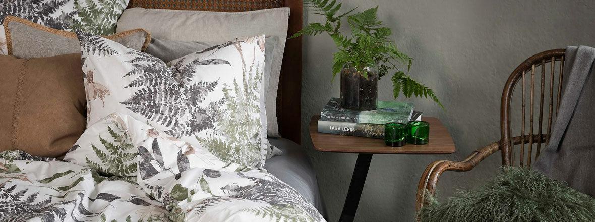 Sängkläder i 100 procent bomull